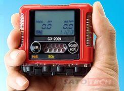 火山ガス検知器 GX-2009 TYPE J[理研計器]